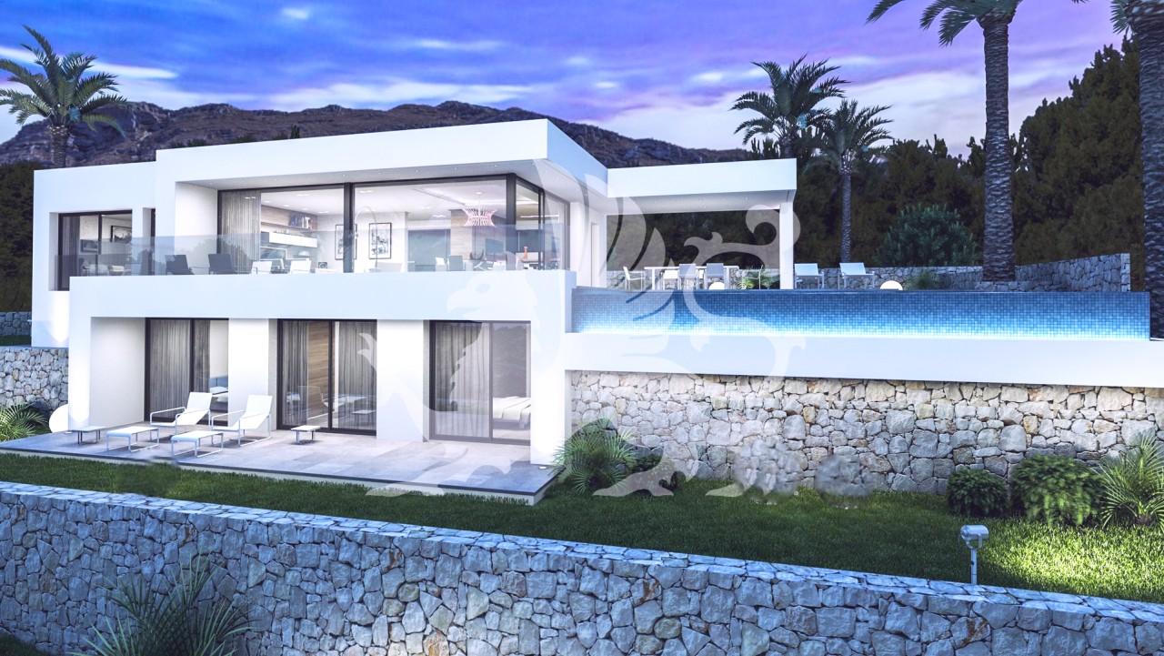 Minimalistic Villas 500 000 To 800 000 Denia Javea Moraira Calpe Ref D946 Sa Denia