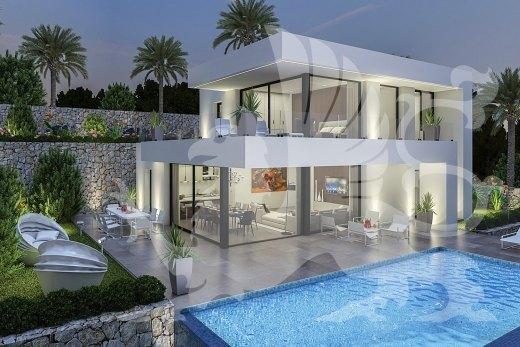 Neue Moderne Villa In Denia Zu Bauen Ref M264 Stirling Ackroyd