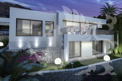 Haus der Zukunft, mit fantastischen Panoramablick auf das ...